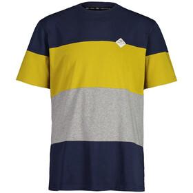 Maloja TollkirscheM. SS T-shirt Herrer, blå/gul